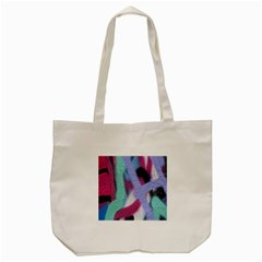 Texture Pattern Abstract Background Tote Bag (Cream)