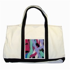Texture Pattern Abstract Background Two Tone Tote Bag