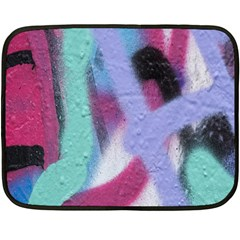 Texture Pattern Abstract Background Double Sided Fleece Blanket (Mini)
