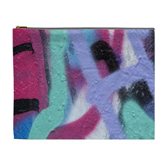 Texture Pattern Abstract Background Cosmetic Bag (XL)