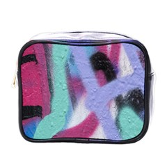 Texture Pattern Abstract Background Mini Toiletries Bags