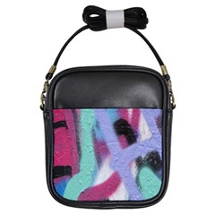 Texture Pattern Abstract Background Girls Sling Bags