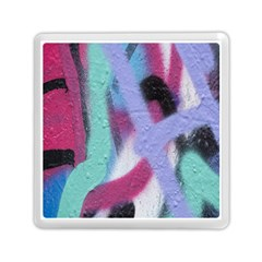 Texture Pattern Abstract Background Memory Card Reader (Square)