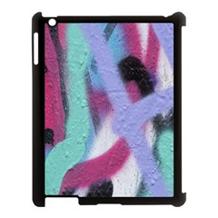 Texture Pattern Abstract Background Apple iPad 3/4 Case (Black)