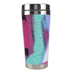Texture Pattern Abstract Background Stainless Steel Travel Tumblers