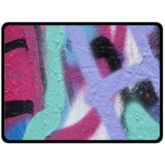 Texture Pattern Abstract Background Double Sided Fleece Blanket (Large)
