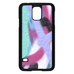 Texture Pattern Abstract Background Samsung Galaxy S5 Case (Black)