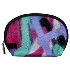 Texture Pattern Abstract Background Accessory Pouches (Large)