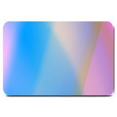 Twist Blue Pink Mauve Background Large Doormat