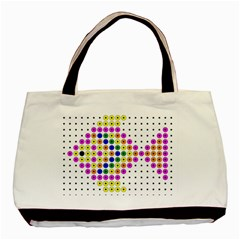 Colored Fish Basic Tote Bag (Two Sides)