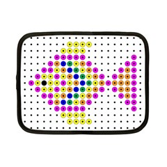 Colored Fish Netbook Case (Small)