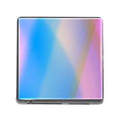 Twist Blue Pink Mauve Background Memory Card Reader (Square)