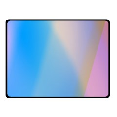 Twist Blue Pink Mauve Background Fleece Blanket (Small)