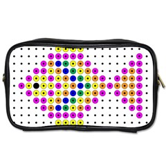 Colored Fish Toiletries Bags 2-Side