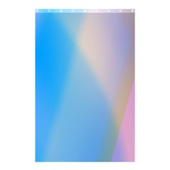 Twist Blue Pink Mauve Background Shower Curtain 48  x 72  (Small)