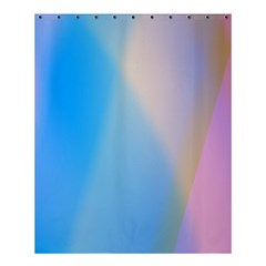 Twist Blue Pink Mauve Background Shower Curtain 60  x 72  (Medium)