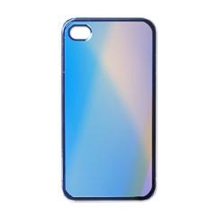 Twist Blue Pink Mauve Background Apple iPhone 4 Case (Black)
