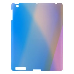 Twist Blue Pink Mauve Background Apple iPad 3/4 Hardshell Case