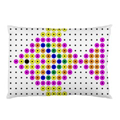 Colored Fish Pillow Case (Two Sides)