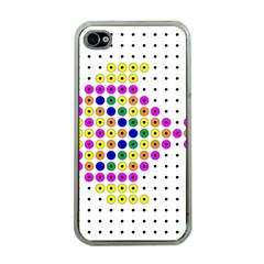 Colored Fish Apple iPhone 4 Case (Clear)