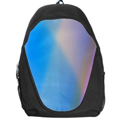 Twist Blue Pink Mauve Background Backpack Bag