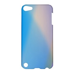 Twist Blue Pink Mauve Background Apple iPod Touch 5 Hardshell Case