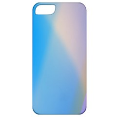 Twist Blue Pink Mauve Background Apple iPhone 5 Classic Hardshell Case