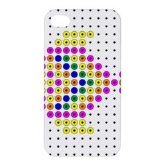 Colored Fish Apple iPhone 4/4S Hardshell Case