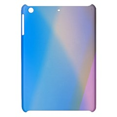 Twist Blue Pink Mauve Background Apple iPad Mini Hardshell Case