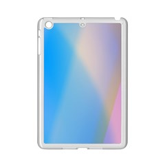 Twist Blue Pink Mauve Background iPad Mini 2 Enamel Coated Cases