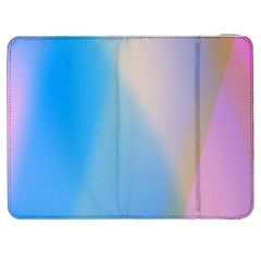 Twist Blue Pink Mauve Background Samsung Galaxy Tab 7  P1000 Flip Case