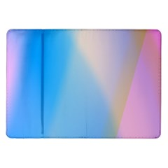 Twist Blue Pink Mauve Background Samsung Galaxy Tab 10.1  P7500 Flip Case