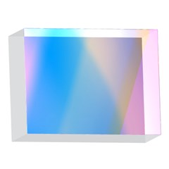 Twist Blue Pink Mauve Background 5 x 7  Acrylic Photo Blocks