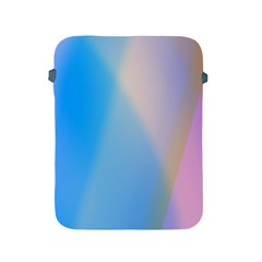 Twist Blue Pink Mauve Background Apple iPad 2/3/4 Protective Soft Cases
