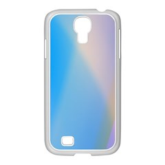 Twist Blue Pink Mauve Background Samsung GALAXY S4 I9500/ I9505 Case (White)
