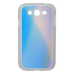 Twist Blue Pink Mauve Background Samsung Galaxy Grand DUOS I9082 Case (White)