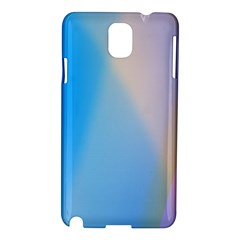 Twist Blue Pink Mauve Background Samsung Galaxy Note 3 N9005 Hardshell Case