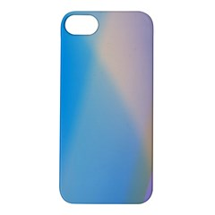 Twist Blue Pink Mauve Background Apple iPhone 5S/ SE Hardshell Case