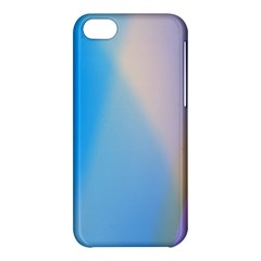 Twist Blue Pink Mauve Background Apple iPhone 5C Hardshell Case