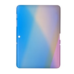 Twist Blue Pink Mauve Background Samsung Galaxy Tab 2 (10.1 ) P5100 Hardshell Case