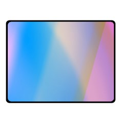 Twist Blue Pink Mauve Background Double Sided Fleece Blanket (Small)