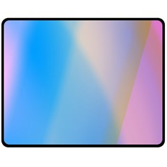 Twist Blue Pink Mauve Background Double Sided Fleece Blanket (Medium)