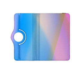 Twist Blue Pink Mauve Background Kindle Fire HDX 8.9  Flip 360 Case