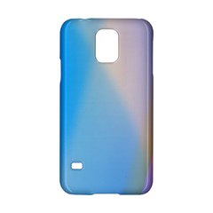 Twist Blue Pink Mauve Background Samsung Galaxy S5 Hardshell Case