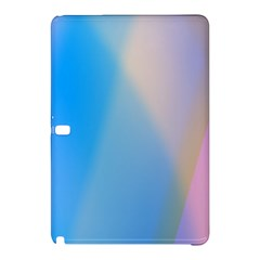 Twist Blue Pink Mauve Background Samsung Galaxy Tab Pro 10.1 Hardshell Case