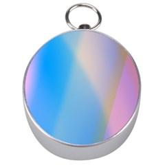 Twist Blue Pink Mauve Background Silver Compasses