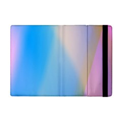 Twist Blue Pink Mauve Background iPad Mini 2 Flip Cases