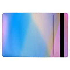 Twist Blue Pink Mauve Background iPad Air Flip