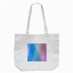 Twist Blue Pink Mauve Background Tote Bag (White)