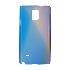 Twist Blue Pink Mauve Background Samsung Galaxy Note 4 Hardshell Case
